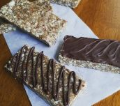Healthy Snacks, Almond Power Bars