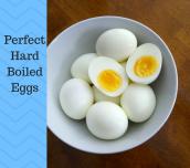 Perfect Easy Peel Hard Boiled Eggs