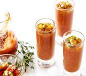 Easy Summer Grilled Gazpacho