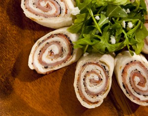 Rachel Sherwood - Ham and Olive Pinwheels