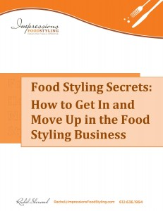 Food Styling Secrets ebook Cover