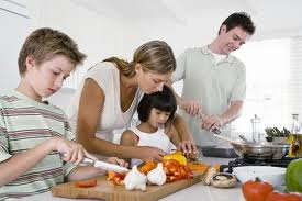 Impressions at Home - Cooking with children