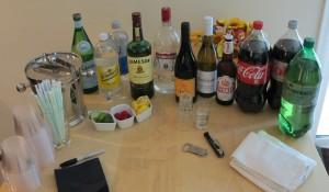 DIY beverage station