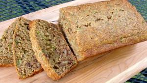 Light and Healthy Zucchini Bread