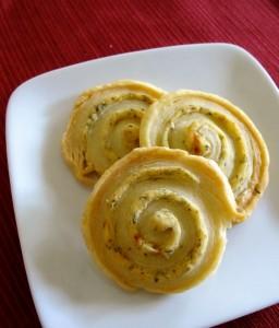 Basic Savory Herb Cheese Pinwheel