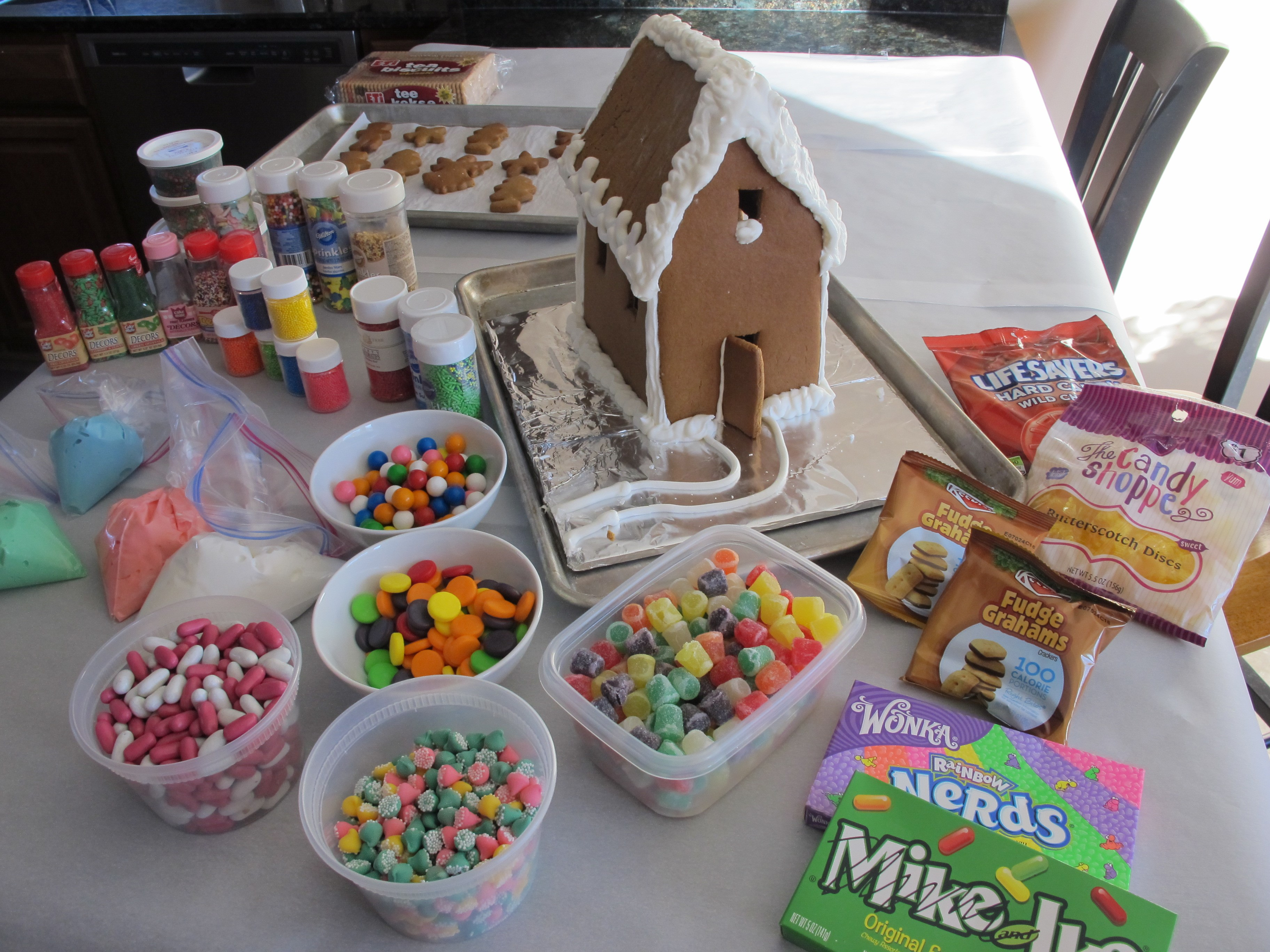 Creating Memories With Gingerbread House Impressions At Home