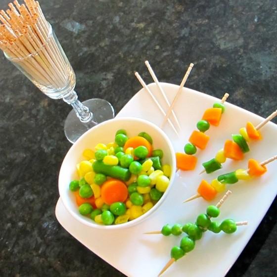 Veggie Kebabs or Swords