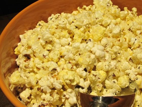 White Truffle Parmesan Popcorn