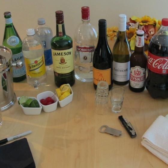D.I.Y Beverage Station