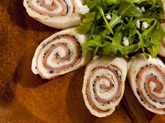 Ham and Olive Pinwheels
