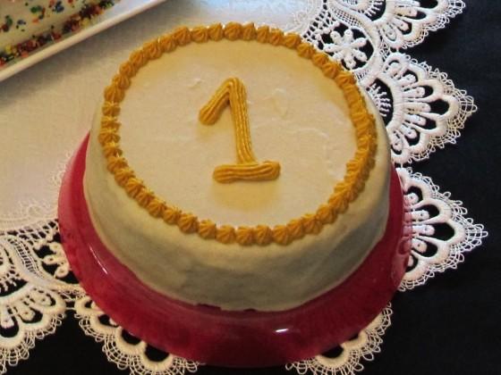 No-Guilt Birthday Cake