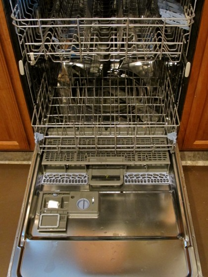 Empty your dishwasher before guests arrive