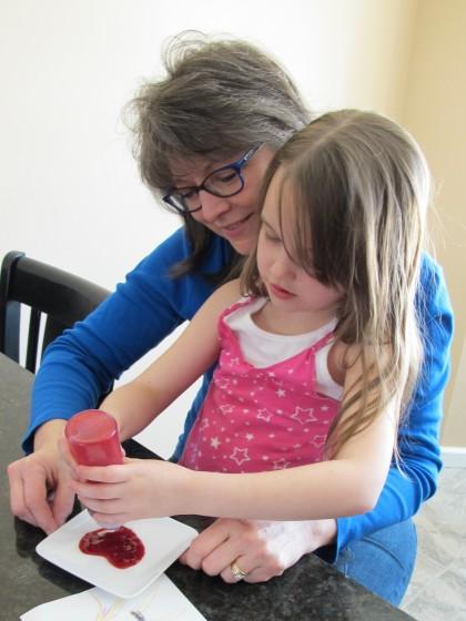 Cooking with a Preschooler