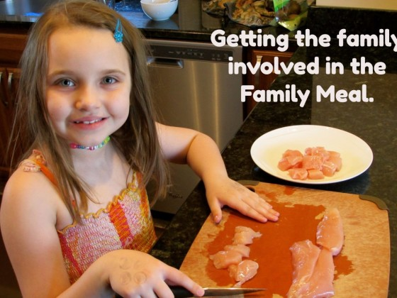 Getting the Family Involved in the Family Meal