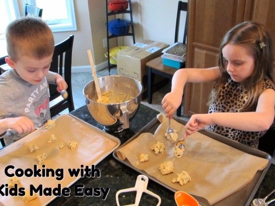 MAKE cooking with Kids Easy