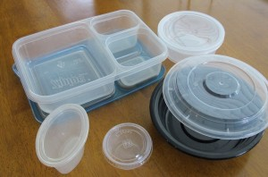 For longer tips keep it simple. Use recyclable plastics that can be disposed of on the go.