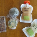 For easy food on the go pack and freeze items if possible in individual servings.