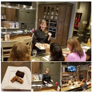 """Guilt Free Treats Class. """"Rachel is so knowledgeable, her food is delicious, simple and full of easy substitutions that work"""" Karen K"""