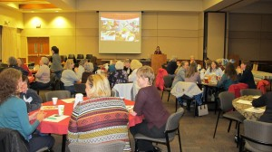 """Large Speaking Event on Meals Made Easy."""" This was so informative, the freezer inventory, space saving ideas and prep ahead methods are genius, Thank you!"""" Louis V"""