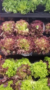 For best value purchase full heads of lettuce