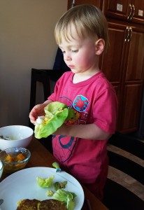 Kid friendly meal options too, my toddler loved helping and eating these items